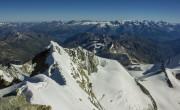 pogled na istočni greben s vrha
